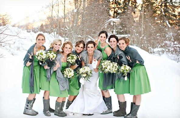 Winter Backyard Wedding Ideas : Cozy Winter Wedding Outdoor  bridal wedding ideas