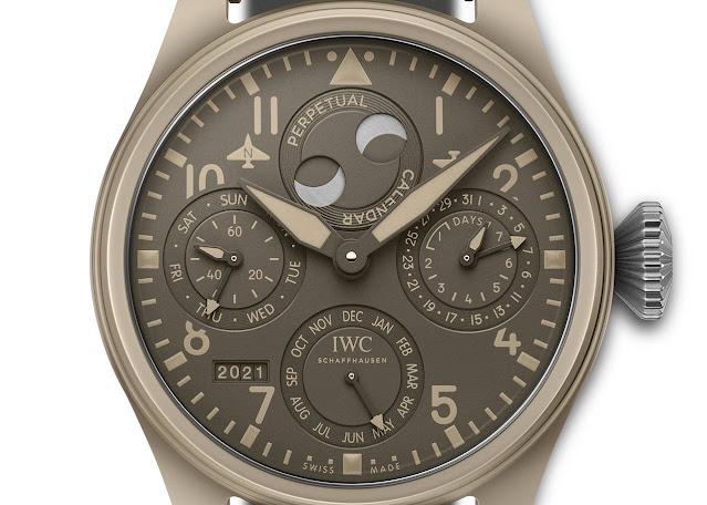 "IWC Big Pilot's Watch Perpetual Calendar TOP GUN Edition ""Mojave Desert"" ref. IW503004"