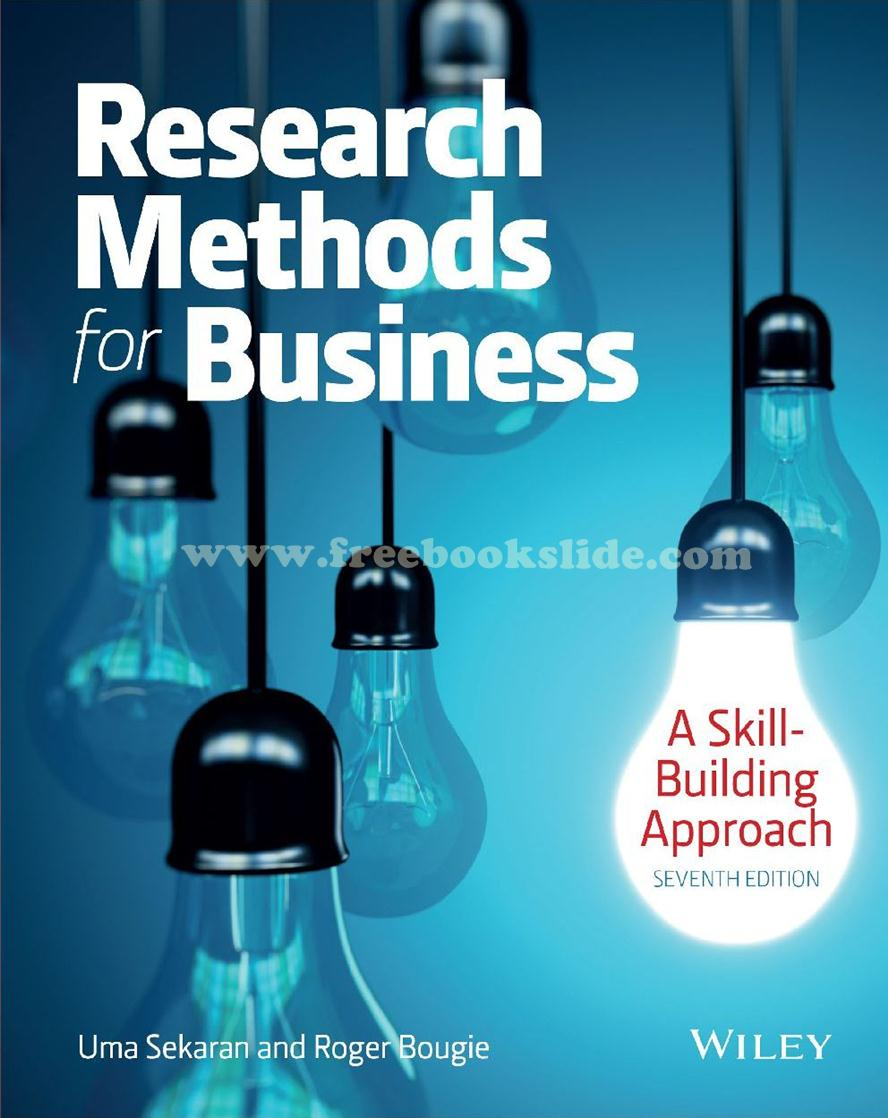 Research Methods for Business : A Skill-Building Approach