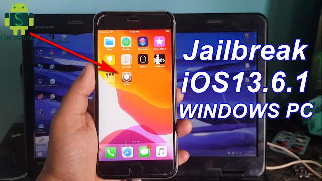 Windows iOS13.6.1 Apple Device Jailbreak With Checkra1n & Install Cydia.