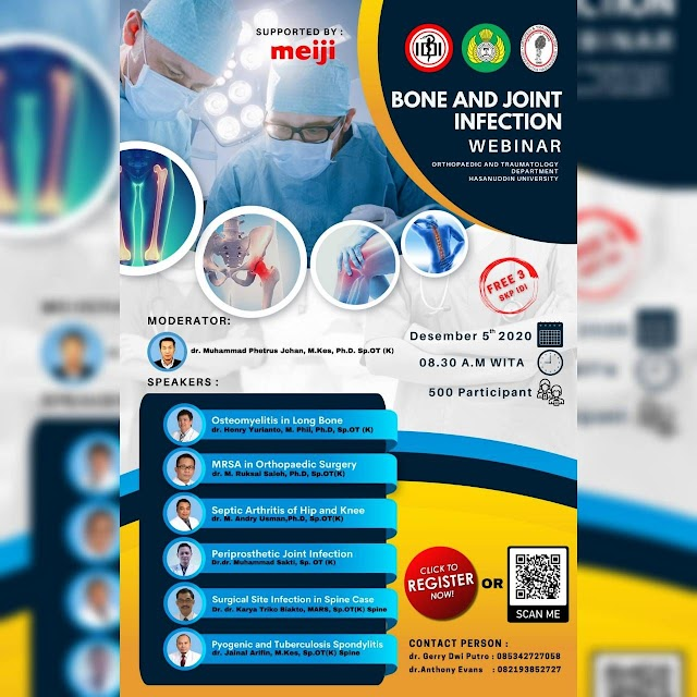 "Free Webinar SKP IDI ""Bone and Joint Infection"""