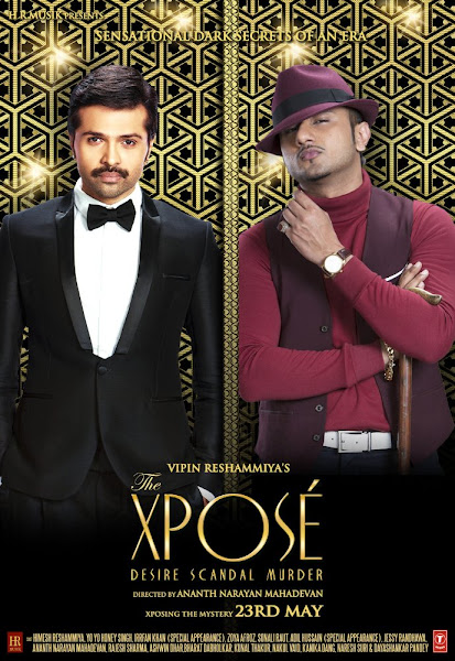 Poster Of The Xpose 2014 720p Hindi DVDRip Full Movie Download With ESubs