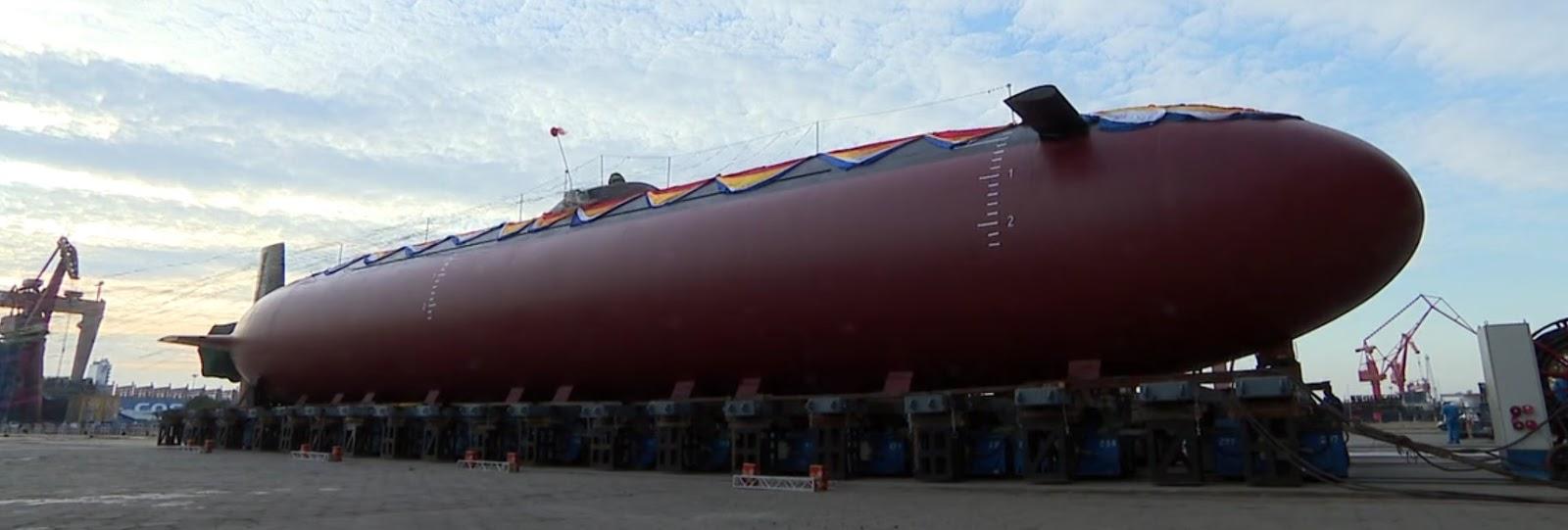 O estaleiro JN lançou o submarino em meados de outubro de 2018. Embora imagens de alta qualidade fossem compartilhadas online, poucos detalhes estavam disponíveis.