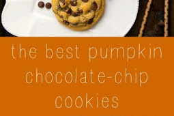{NON-CAKEY} PUMPKIN SPICE CHOCOLATE-CHIP COOKIES