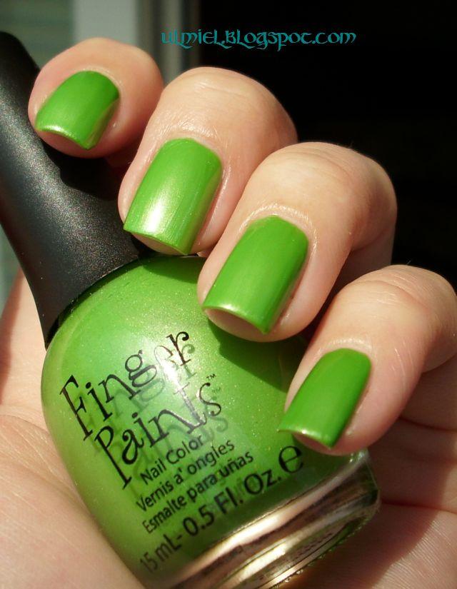 Did Someone Say Nail Polish?: Finger Paints