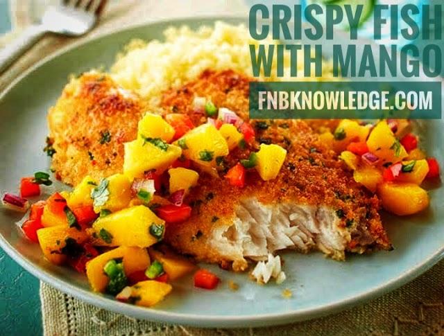 Crispy Fish with Mango