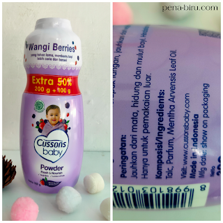 Cussons Baby Powder Berry Review