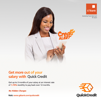 See How to Get Quick Credit Loan From GTBank
