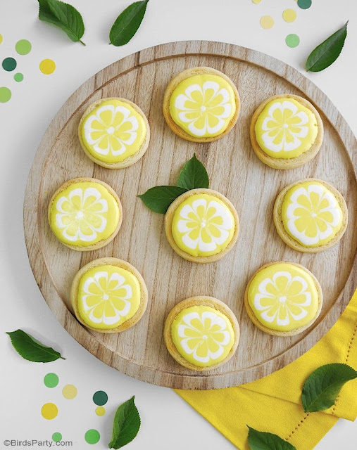 Lemon Sugar Cookie Recipe