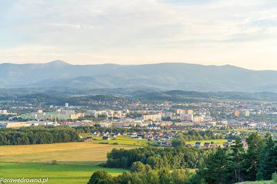 Kotlina Jeleniogórska ze szczytu Szybowcowej