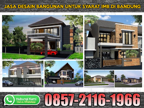 Jasa Desaiin Rumah untuk IMB Bandung