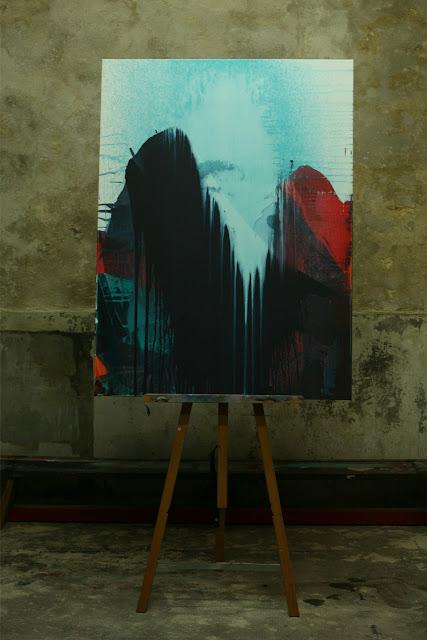 jean baptiste besnaçon peinture acrylique abstraction lyrique
