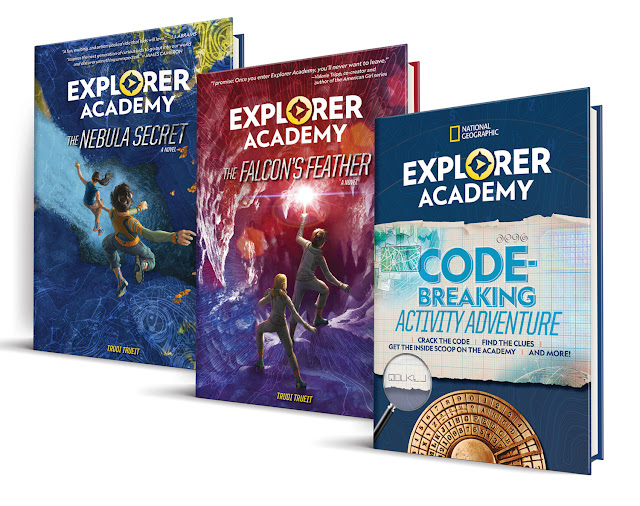 A Summer Reading Giveaway: Explorer Academy Adventure Series ($47 Value)