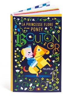 Libro popup la Princesse Flore et son poney bouton d'or