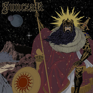 "Stoner rock ""The Unveiling"" debut EP by Sunczar"