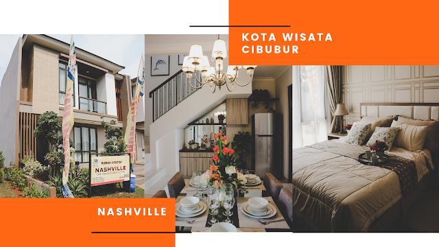 Cluster nashville kota wisata cibubur untuk generasi millenial