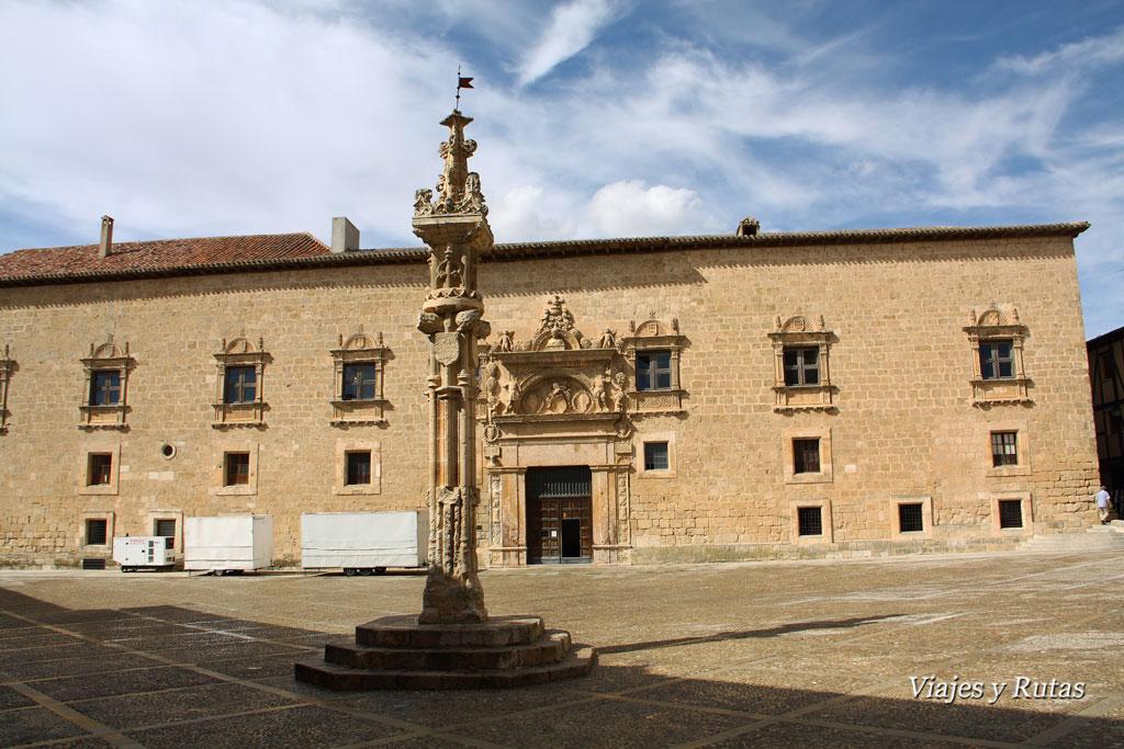 Palacio de los Condes de Miranda o de Avellaneda y rollo jurisdiccional, Peñaranda de Duero, Burgos
