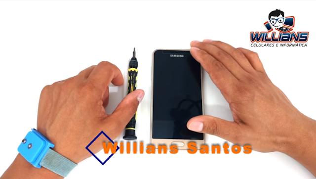 Aprenda como Desmontar Celulares da Marca Samsung J2, J3, J5, J7, Grand Prime.