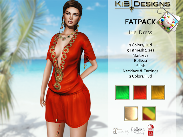 KiB Designs - Irie Dress & Jewels Exclusive for Color Me Project