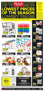 ⭐ Michaels Ad 9/27/20 ⭐ Michaels Weekly Ad September 27 2020
