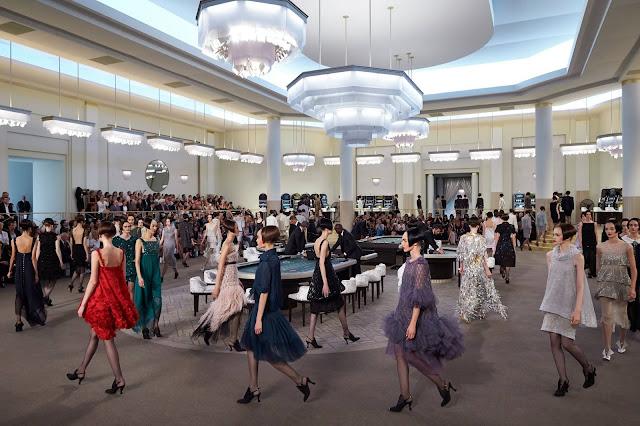 Chanel, Fashion Show, Casino, Paris, France, Paris Fashion Week, Grand Palais, Models, Fashion Show, Venue