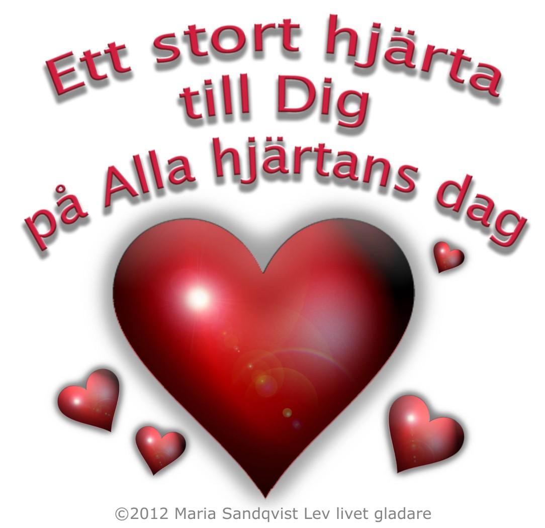 grattis på alla hjärtans dag Hej och grattis på alla hjärtans dag   rattvisan grattis på alla hjärtans dag