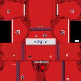 Chicago Fire Kits 2018 - Dream League Soccer