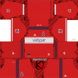 Chicago Fire Kits 2018 - Dream League Soccer