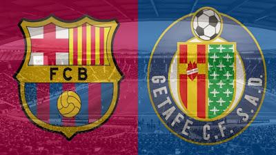 مشاهدة مباراة برشلونة ضد خيتافي 17-10-2020 بث مباشر في الدوري الاسباني