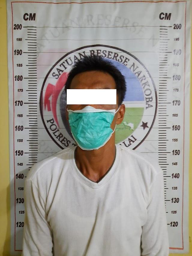 Miliki Sabu, Warga Sijambi Diamankan Sat Res Narkoba Polres Tanjung Balai