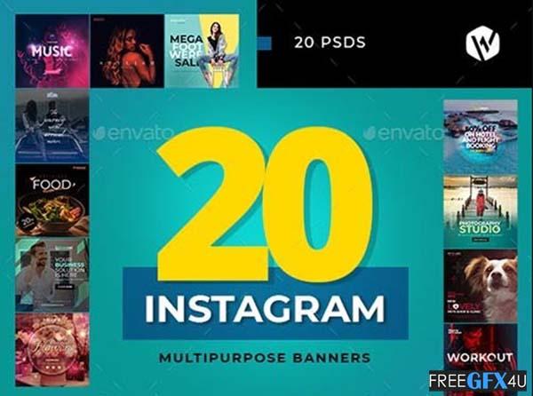 20 Instagram Banners
