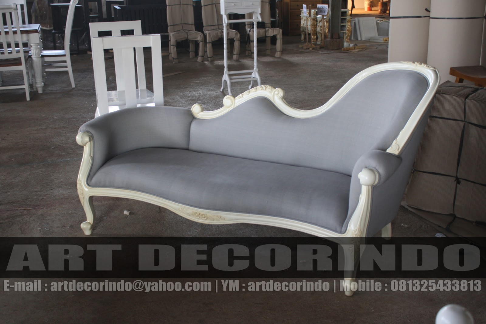 Antike Sofas Furniture Sofa Antik Ukiran Jepara Dengan Finishing Duco Putih
