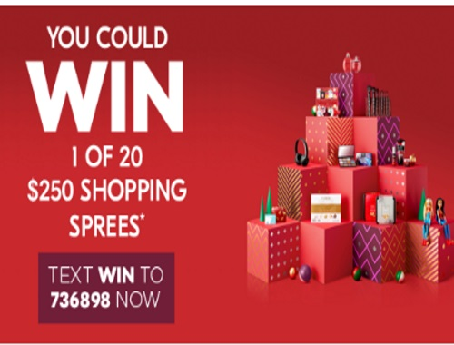 Shoppers Drug Mart Shopping Spree Contest