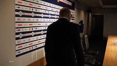 PES 2020 Press Room Paris Saint-Germain by Ivankr Pulquero