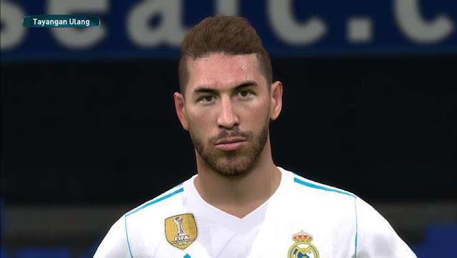 Sergio Ramos Face PES 2017