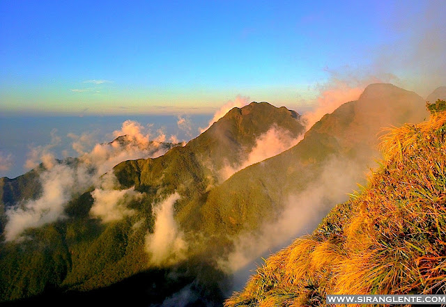 Mt. Guiting-guiting summit.