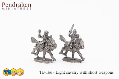 TB-4166   Light cavalry with short weapons (15)