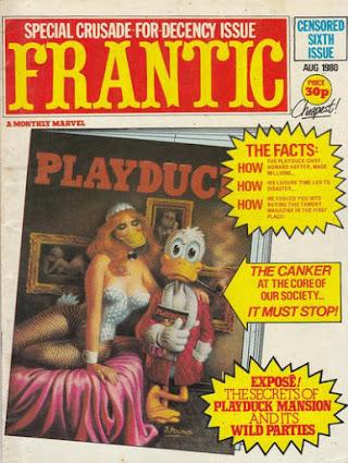 Frantic #6, Howard the Duck