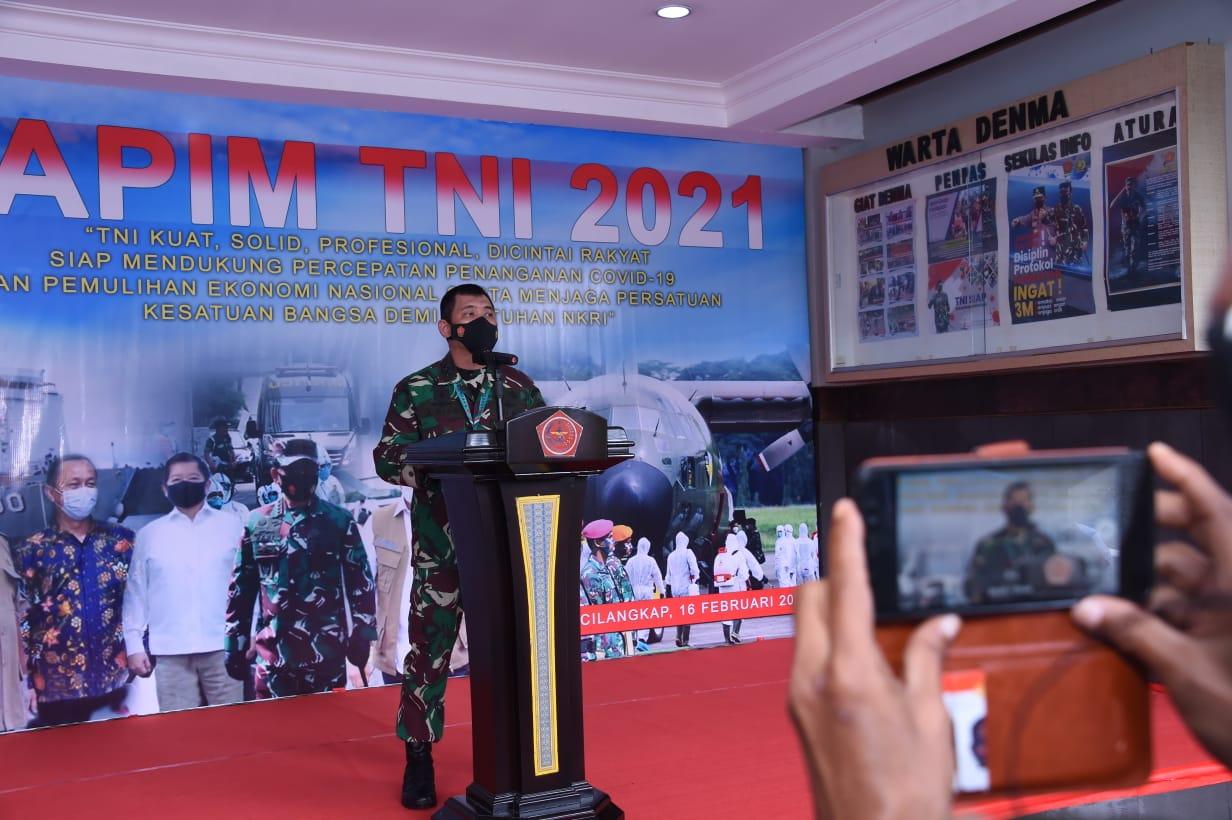 Dukung Pemulihan Ekonomi Nasional, TNI Akan Kerahkan Seluruh Potensi dan Kemampuan Yang Dimiliki