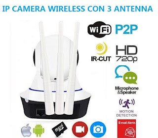 ip camera wireless 3 antenna