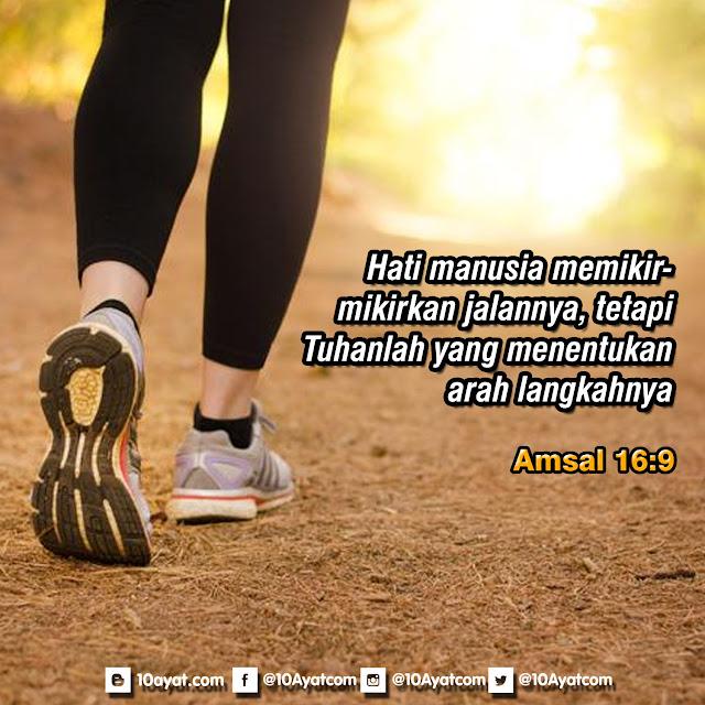 Amsal 16:9