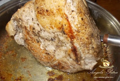 Preparare friptura de porc inabusita-etapa 3