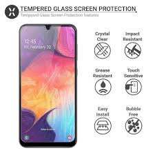 Samsung Galaxy A50s Display and Screen Protection