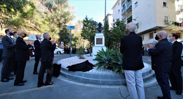 Un busto inmortaliza al Padre Gámez en el vía crucis que sube al Monte Calvario