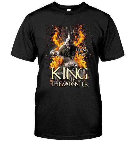 GODZILLA King of the Monsters T-Shirts 2019 Hoodie Sweatshirt Sweater Tank Tops