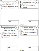 FREE Mini Workbook using simple Word Problems