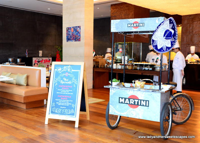 Oberoi Street Art Brunch Martini tricycle