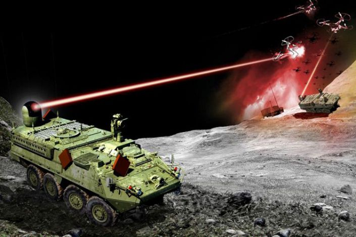 US Army's Stryker-Mounted Laser Weaponry Enter Final Stages