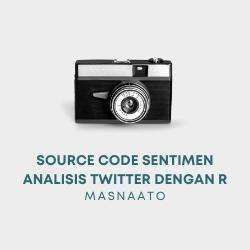 Source Code Sentimen Analisis Twitter dengan R