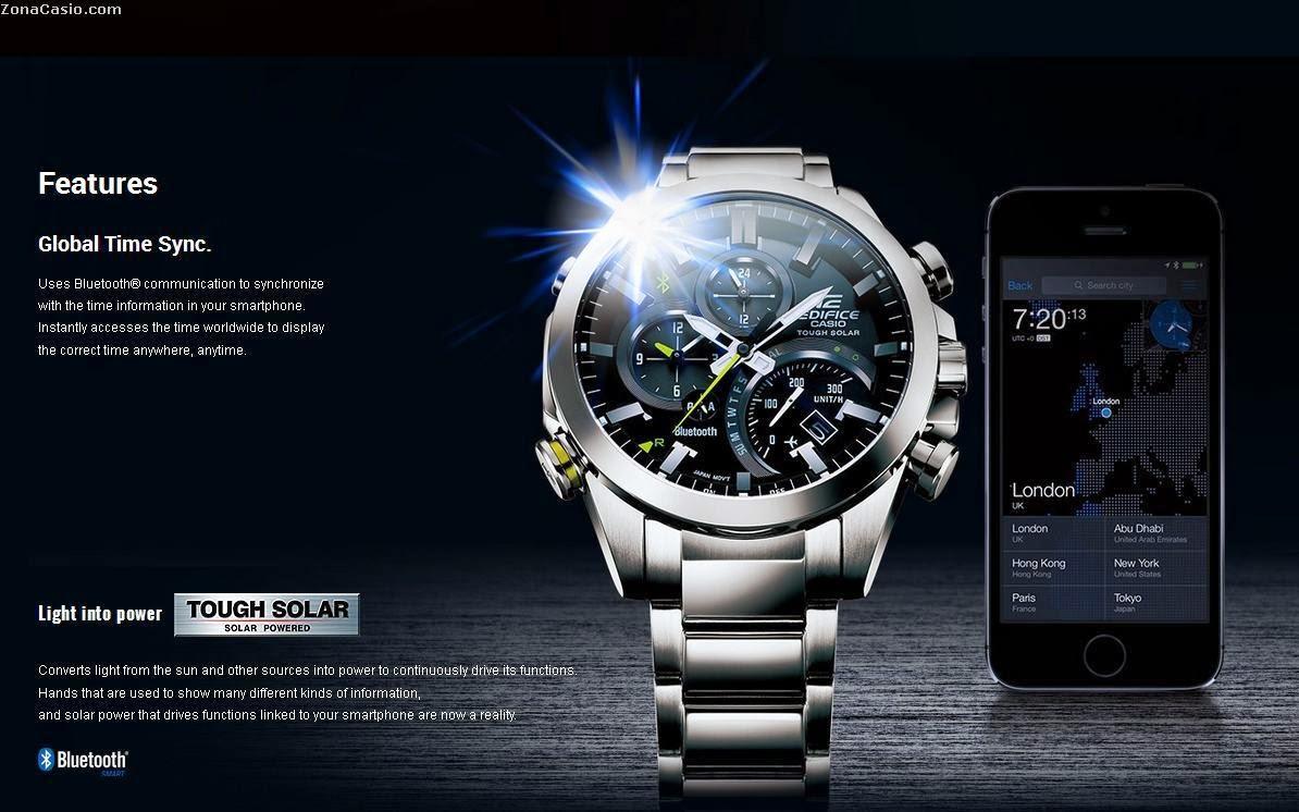 349153a79a34 Llegan los Edifice EQB-500 y Casio anuncia oficialmente una versión Red  Bull de ellos